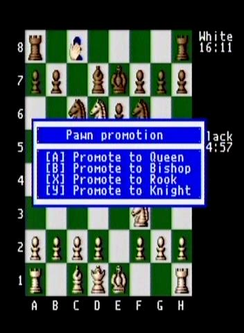 Pawn promotion