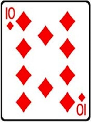 Ten of Diamonds